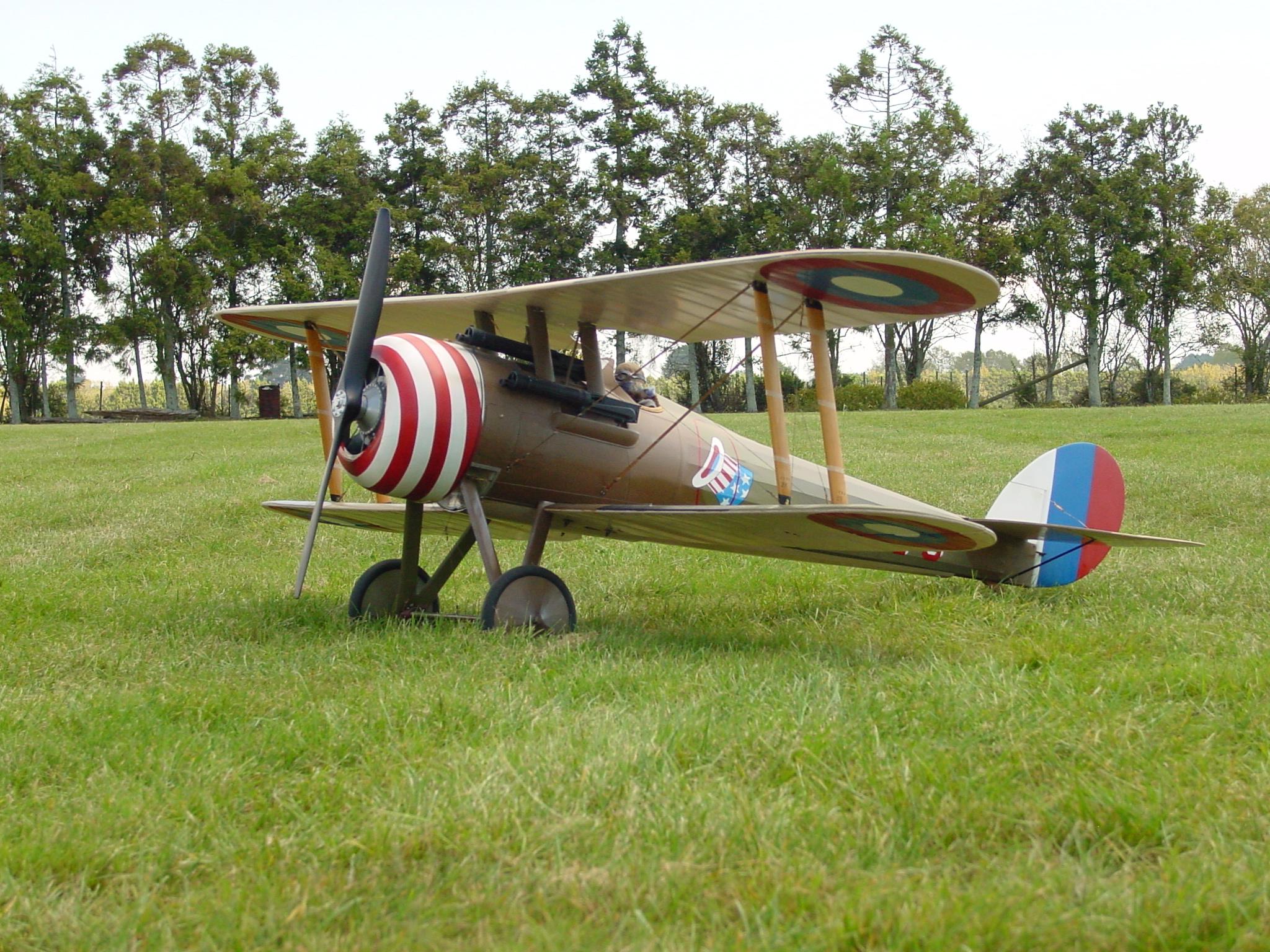 My Proctor Nieuport 28 -circa 2000